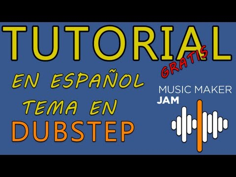 Tutorial - Windows 8 - Music Maker Jam Gratis - Tema Dubstep Español