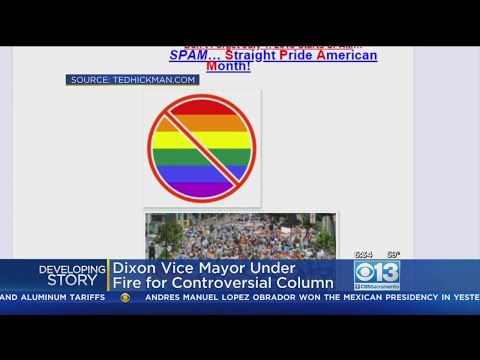 California City Vice Mayor Facing Backlash For Column Calling Gay Men 'Faries'