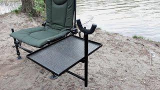 Крепления для обвеса на стул elektrostatyk cuzo f2, f5r. Своими руками. Фидерный стул.