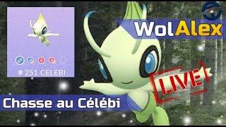 Pokemon GO LIVE : Chasse au Celebi