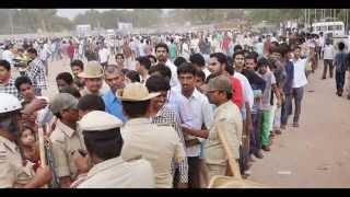 Mahesh babu's craze in karnataka @ power movie audio funtion