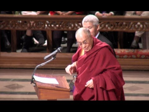 "Full ""Beyond Religion: Ethics for the Whole World"" Dalai Lama Speech"