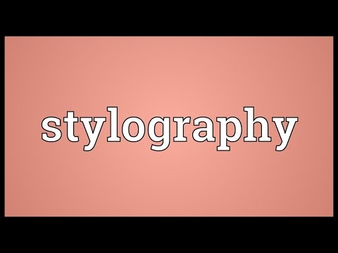 Header of stylography