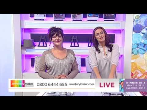 'How to Make Beaded Jewellery': JewelleryMaker LIVE 11/08/2014