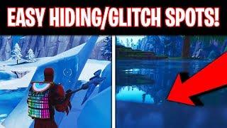 Good Hiding/Glitch Spots Fortnite Season 8 (EASY)