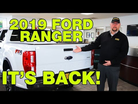 2019 Ford Ranger XLT & Lariat Review | DGDG.COM