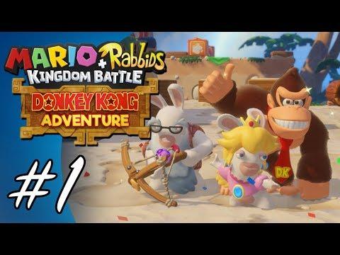 Donkey Kong Adventure #1 (Mario + Rabbids: Kingdom Battle DLC)