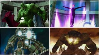 All boss fights The Incredible Hulk: Ultimate Destruction