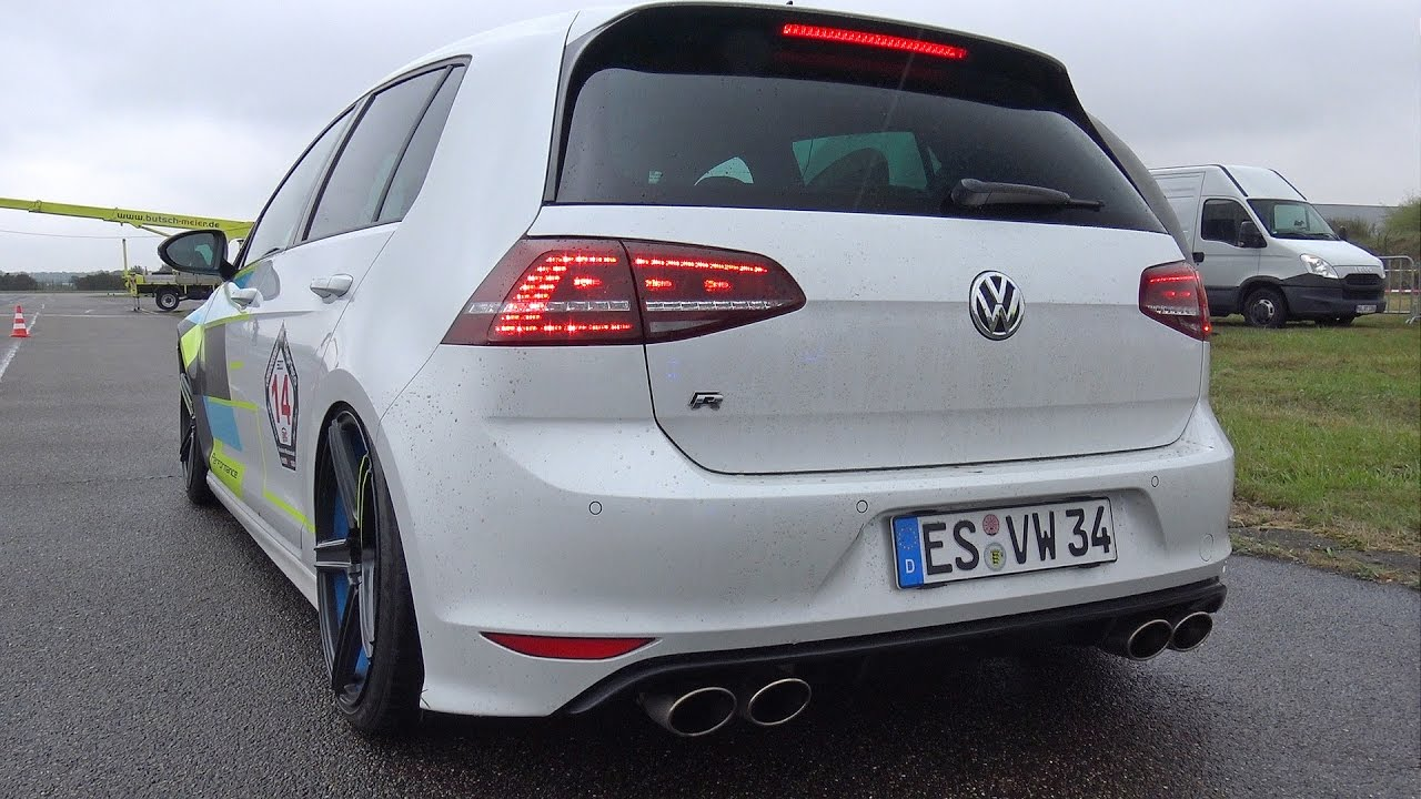vw golf 7 r tte525r turbocharger revs drag racing. Black Bedroom Furniture Sets. Home Design Ideas