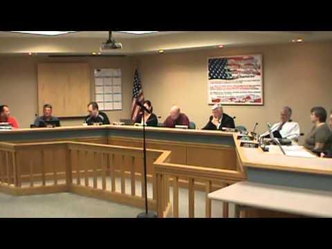 Centralia MO Board Of Alderman Meeting 10/15/12