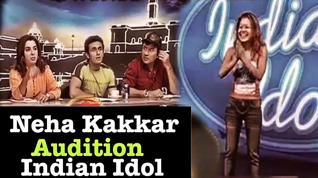 नेहा कक्कड़ ने जब दिया था indian Idol का audition