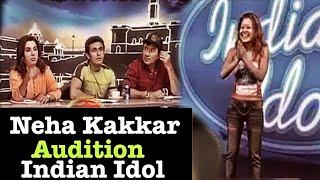 Neha Kakkar Selected in Audition Indian Idol 2