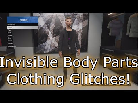 GTA 5 BEST 2 Clothing Glitches 1.31/1.27! ''INVISIBLE TORSO'' & ''INVISIBLE ARMS'' OUTFIT GLITCHES!