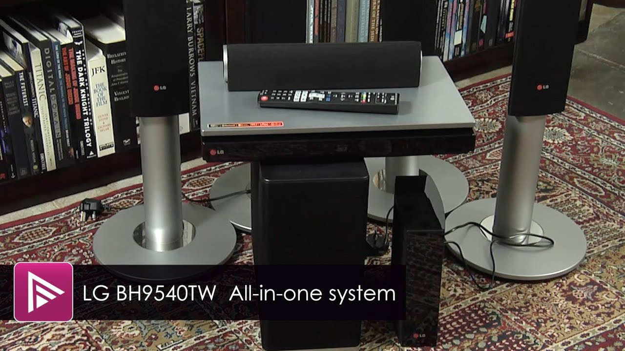 LG BH9540TW All-in-One Home Cinema System Review - YouTube