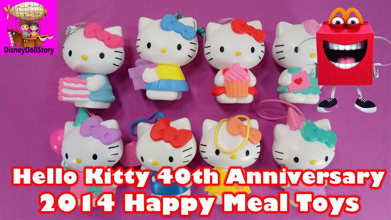 Hello Kitty Happy Meal Toys : Hello kitty th anniversary birthday surprise