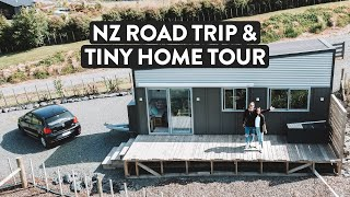 This Is New Zealand 🚙 North Island Road Trip Ep.1 + Tiny House Tour