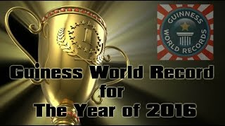 The Guiness World Record | Guiness World Record 2016 | New Records of 2016