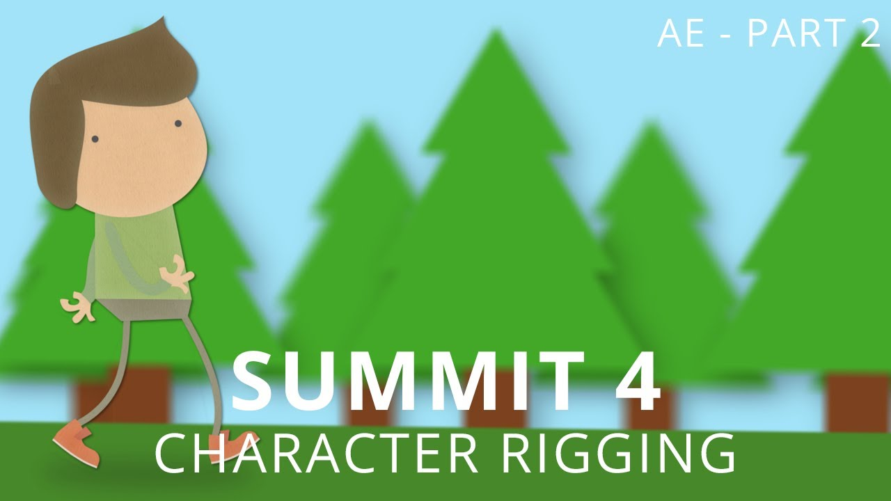 Papercraft Summit 4.2 - Character Rigging - After Effects