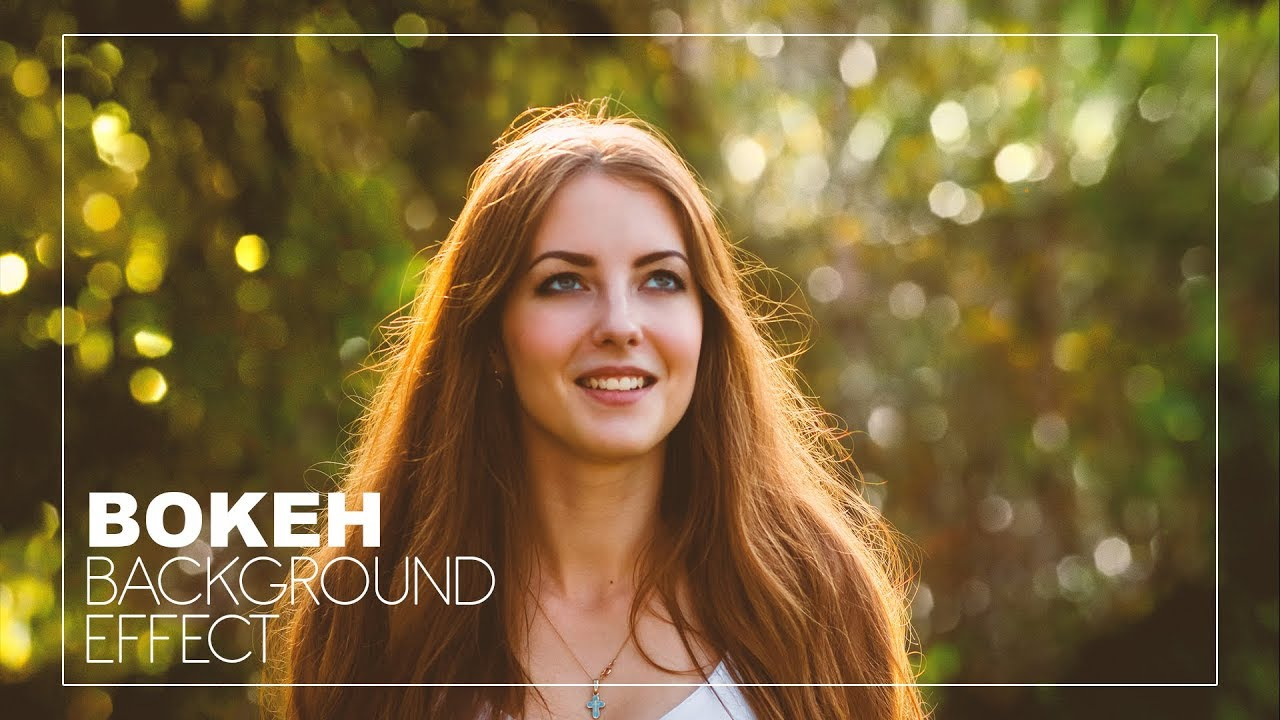 How To Add Bokeh Blur Background To Photos In Photoshop Like Costly Prime Lens Photoshopdesire Com Youtube