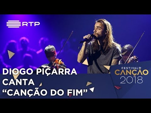 Canção n.º 4: Diogo Piçarra - 'Canção do Fim' - 2.ª Semifinal | Festival da Canção 2018