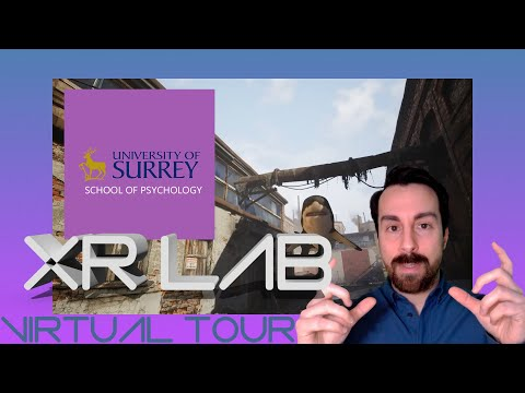 Play video: XR Lab Virtual Tour | Psychology | University of Surrey