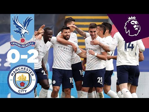 EXTENDED HIGHLIGHTS | Crystal Palace 0-2 City