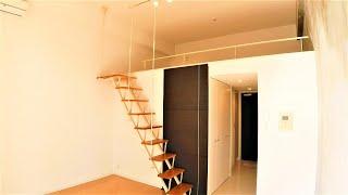 プライムアーバン芝浦ロフト 1K+loft  25.73㎡ デザイナーズマンション メゾネット 野村不動産 prime urban shibaura loft