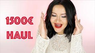 1500 € Beauty Haul 💰💰💰💰| PatrycjaPage