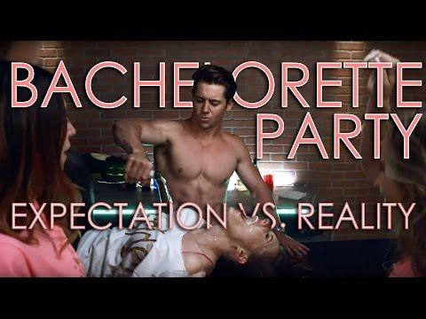 Bachelorette Party Expectation vs. Reality