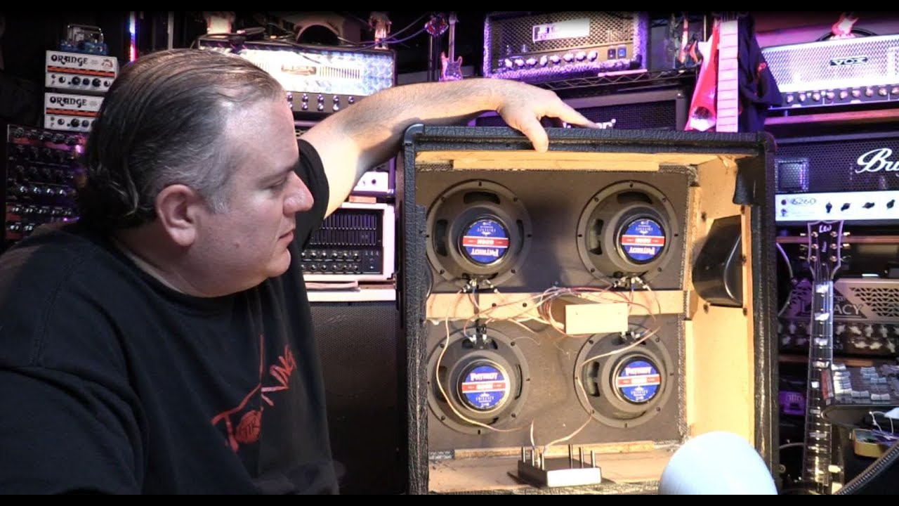 10 Reasons to Upgrade your Guitar Speakers! Part I : Install, How ...