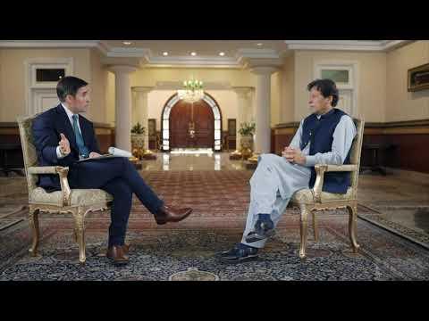 Pakistan's Imran Khan knocks down idea of U.S. counterterrorism presence  | Axios on HBO - Promo