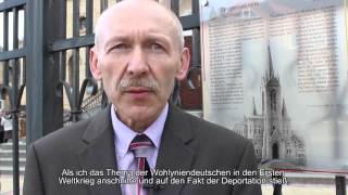 Deutsche in der Geschichte Wolhyniens / Немцы в истории Волыни