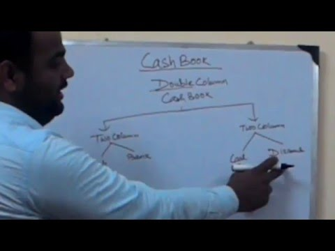 Cash book double column part 1, in simplest way