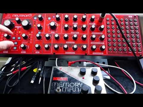 Behringer Neutron & EHX Deluxe Memory Man