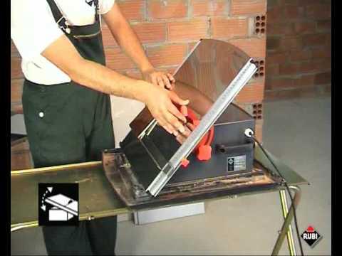 rubi nd cortadora de ceramica electrica portatil portable electric tile saw