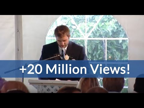 Best Brother Wedding Speech Kills Crowd (hilarious ending!)