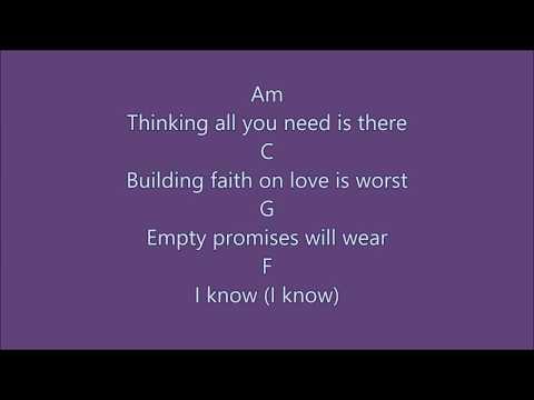 IMPOSSIBLE - James Arthur Lyrics And Chords