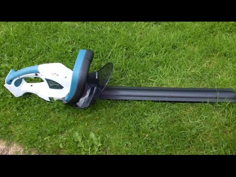 Makita UH480DW G-Series 14.4v Lithium Ion Cordless Hedge Trimmer - Review