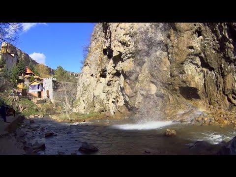 Медовые водопады в Карачаево-Черкесии. Достопримечательности в окрестностях Кисловодска