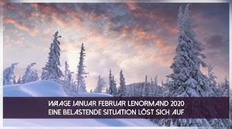 Waage Kartenlegung Januar Februar 2020 - Eine Belastende Situation löst sich auf