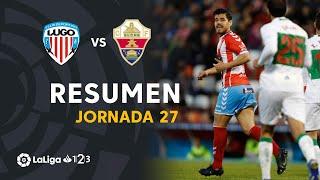 Resumen de CD Lugo vs Elche CF (2-2)