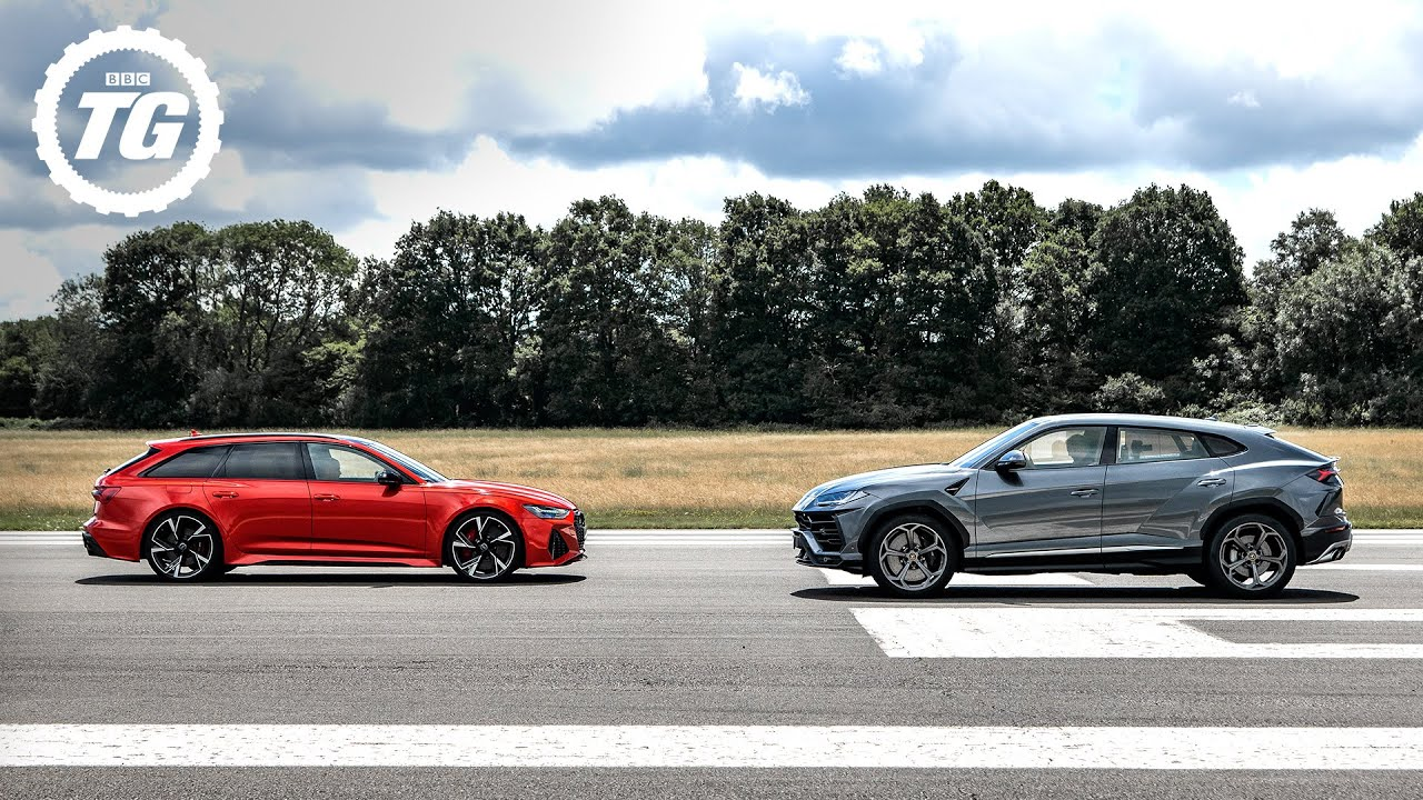 TRACK BATTLE: Audi RS6 Avant vs Lamborghini Urus | Top Gear: Series 29