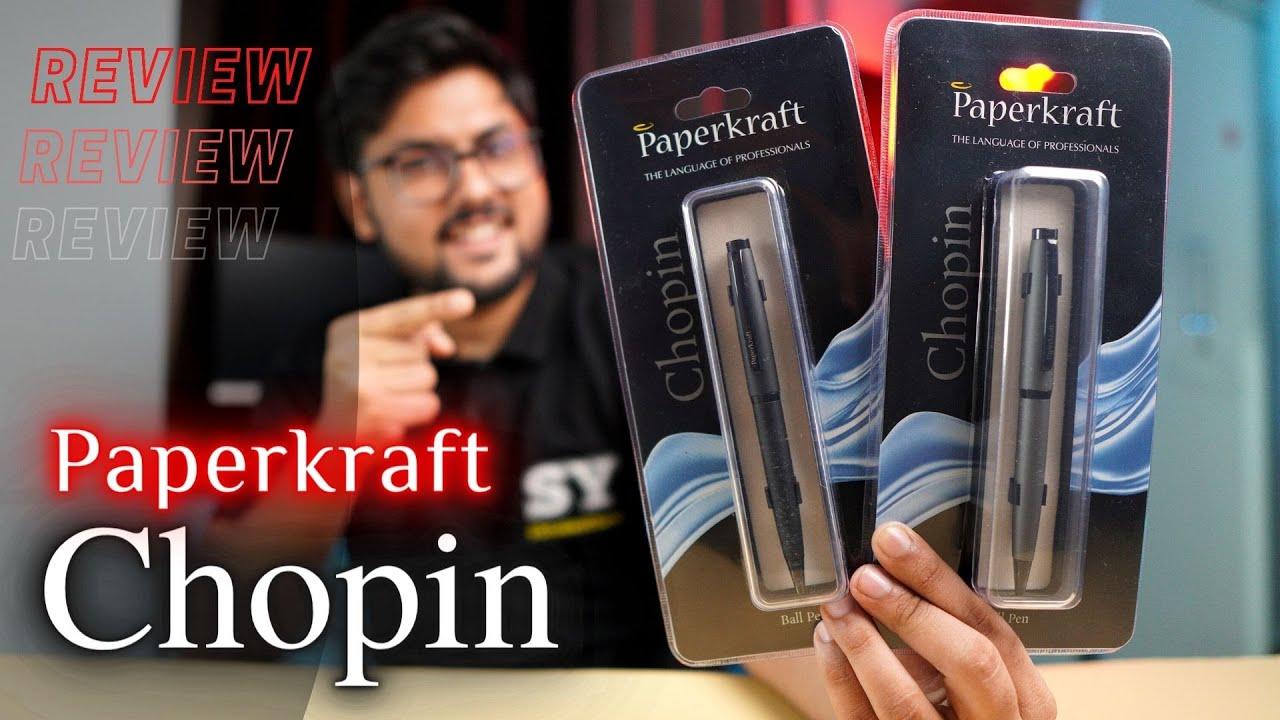 Paperkraft Chopin Review | Best Build quality ball pen under 150 Rs ?