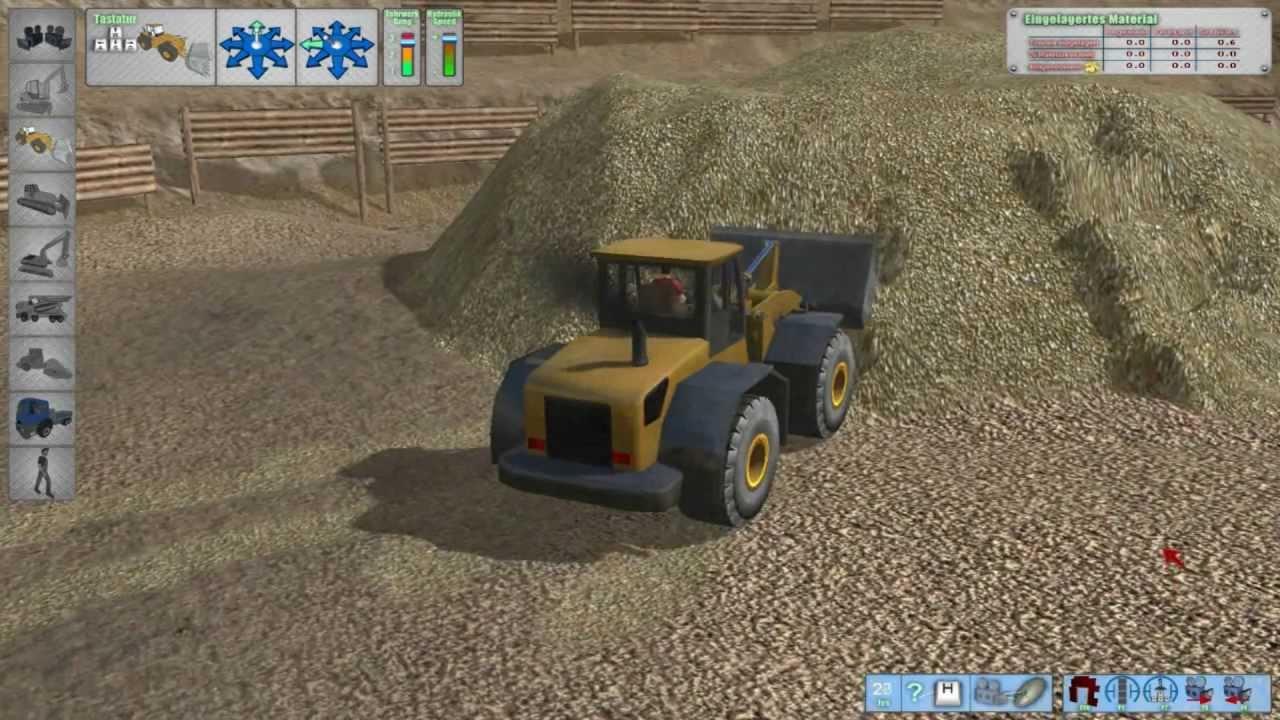 bagger und radlader verladung im landwirtschafts simulator 2011