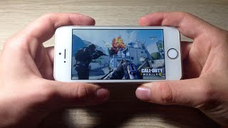 Call of duty Mobile iPhone SE (2019)