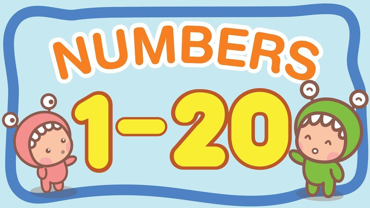 นับเลข 1 - 20 ภาษาอังกฤษ | LITTLE MONSTER KIDS