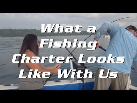 What A Fishing Charter Looks Like
