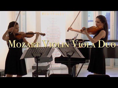 Duo for Violin and Viola in G major KV...