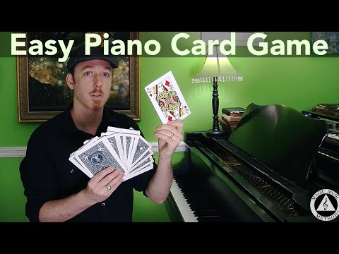 How to Learn Note Names on Piano ∆ Easy Card Game for Piano - Magic Music Method