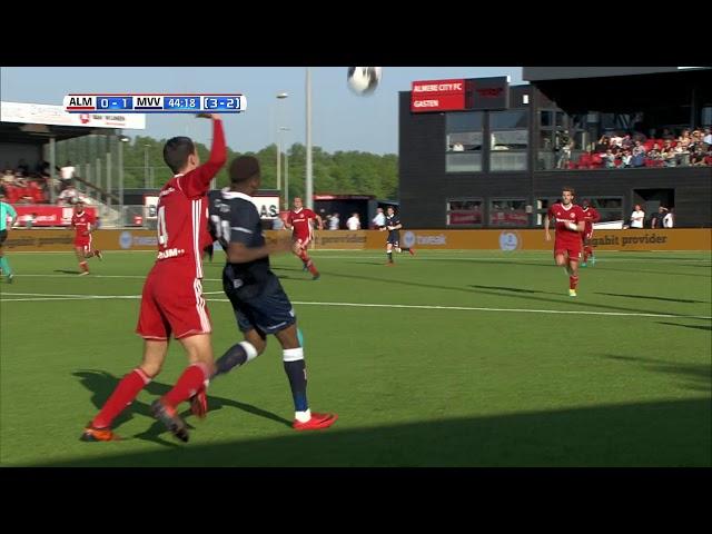 Samenvatting Almere City FC - MVV (3-2)